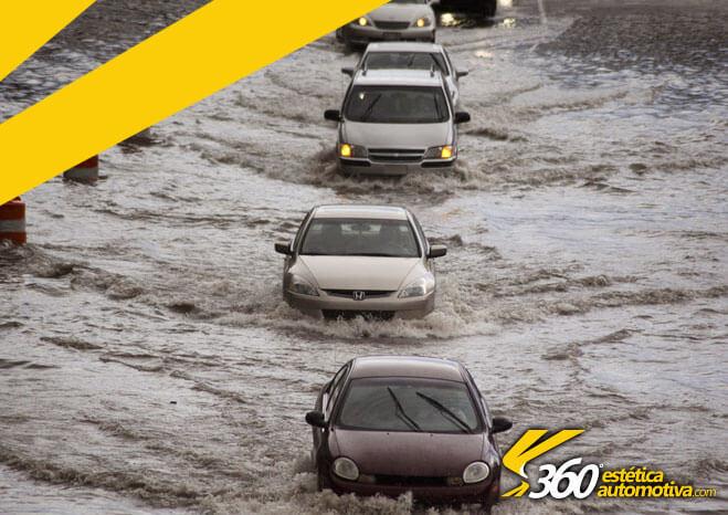 Recuperação de carros de enchente
